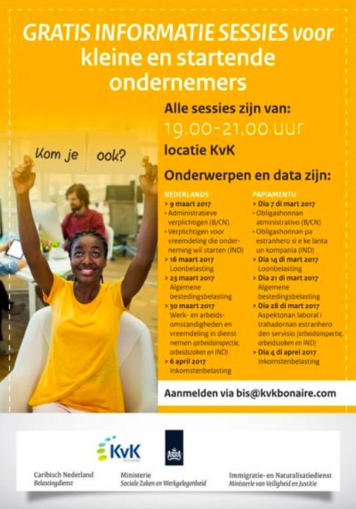 Belasting KVK Bonaire